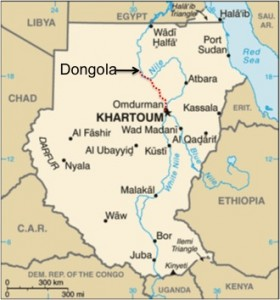 Dongola map